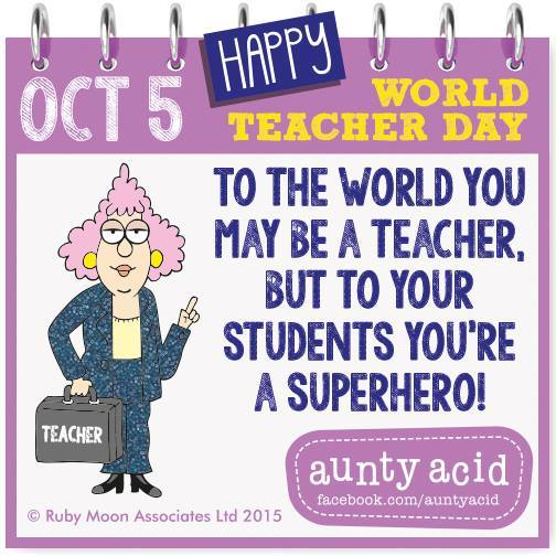 Happy World Teacher's Day - easyuni my Forums